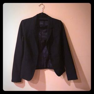 The Limited Fitted Black Blazer